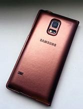 Чехол-книжка для Samsung Galaxy S5 mini G800 золотистый