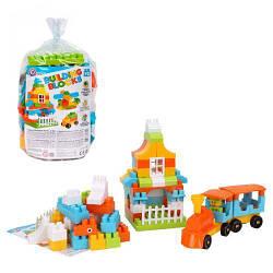 """Пластиковий Конструктор """"Building Blocks"""", 90 дет 6542"""