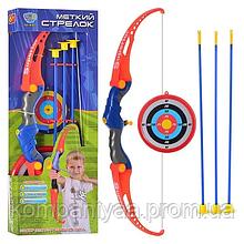 Дитячий лук зі стрілами на присосках і мішенню M 0037