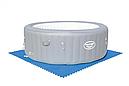 Килимок-пазл для підстилки басейну 58220 (50х50 см 8шт в комплекті), фото 4