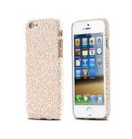 "Пластиковая белая накладка ""Узор"" для Iphone 6"