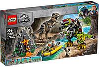 Lego Jurassic World Бій тиранозавра і робота-динозавра 75938