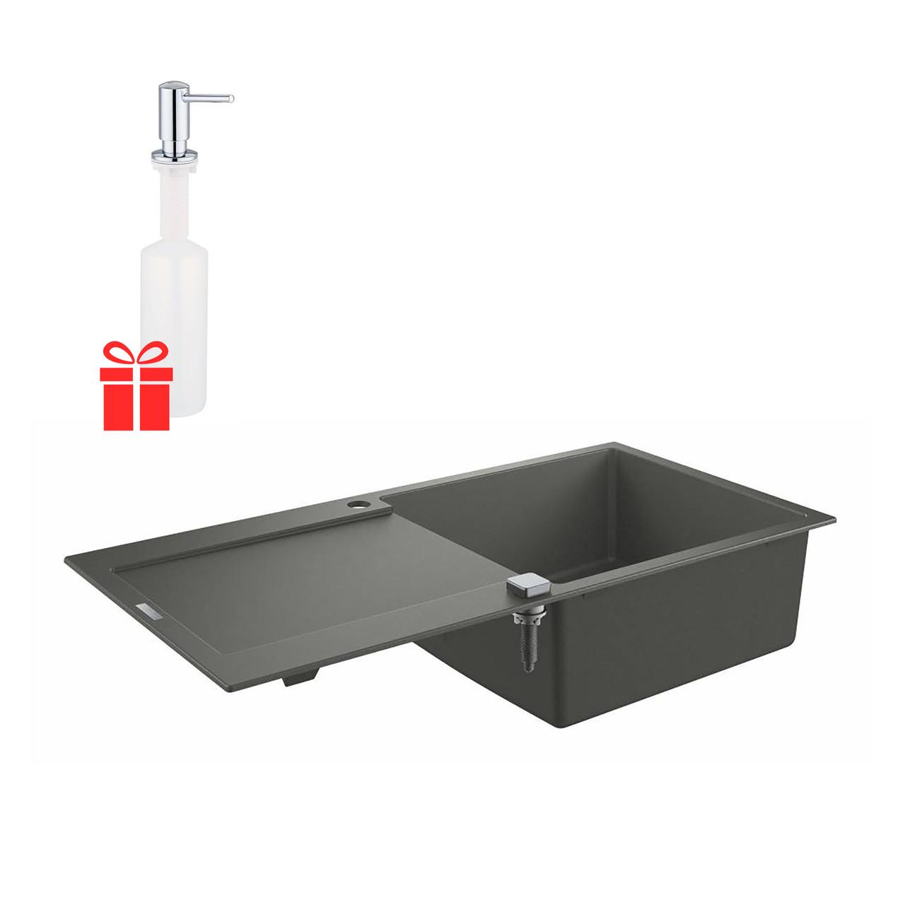 Набор Grohe мойка кухонная K500 31645AT0 + дозатор для моющего средства Contemporary 40536000