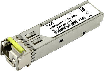 Модуль D-Link SFP 330T/10KM 1port 1000BaseLX SM Fiber WDM (10км)