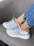 Adidas Yeezy Boost 350 Static (серые), фото 6
