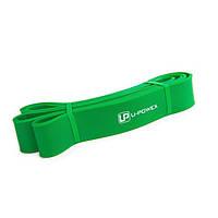 Гумова петля для фітнесу U-Powex Зелена (23-56 кг)