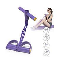 Тренажер з еспандером Body Trimmer - Фіолетовий