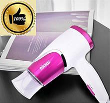Фен DSP для волос 1200 Вт со складной ручкой для путешествий