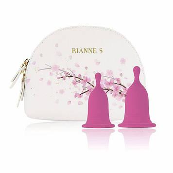 Менструальные чаши RIANNE S Femcare - Cherry Cup две чаши размер S и M Bomba💣