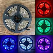 Светодиодная bluetooth RGB LED лента с пультом 5 вольт ргб лед блютуз лента диодная подсветка 5в 5v 5050