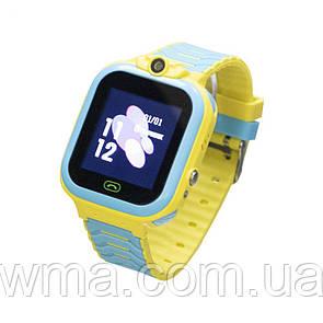 Детские Смарт Часы T16 Цвет Сине-Жёлтый