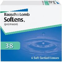 Контактные линзы Bausch&Lomb SofLens 38 (BC=8.7, DIA=14.0) 6 линз