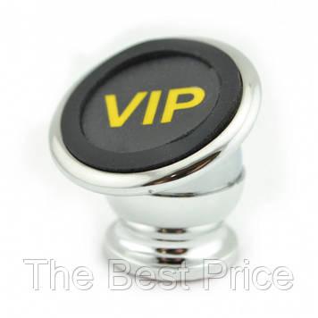 Тримач для телефону з магнітом HOL-CT690 VIP Gold Magnet. Колір срібло