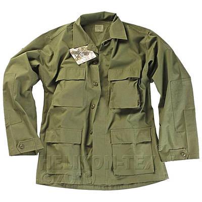 Китель военный Helikon BDU - Olive (Cotton Ripstop)