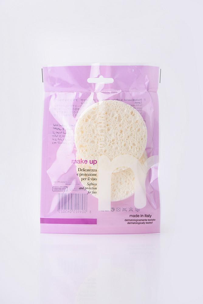 MARTINI SPA 2 Soft Pads In Natural Cellulose Целюлозні спонжі для очищення обличчя (2шт)