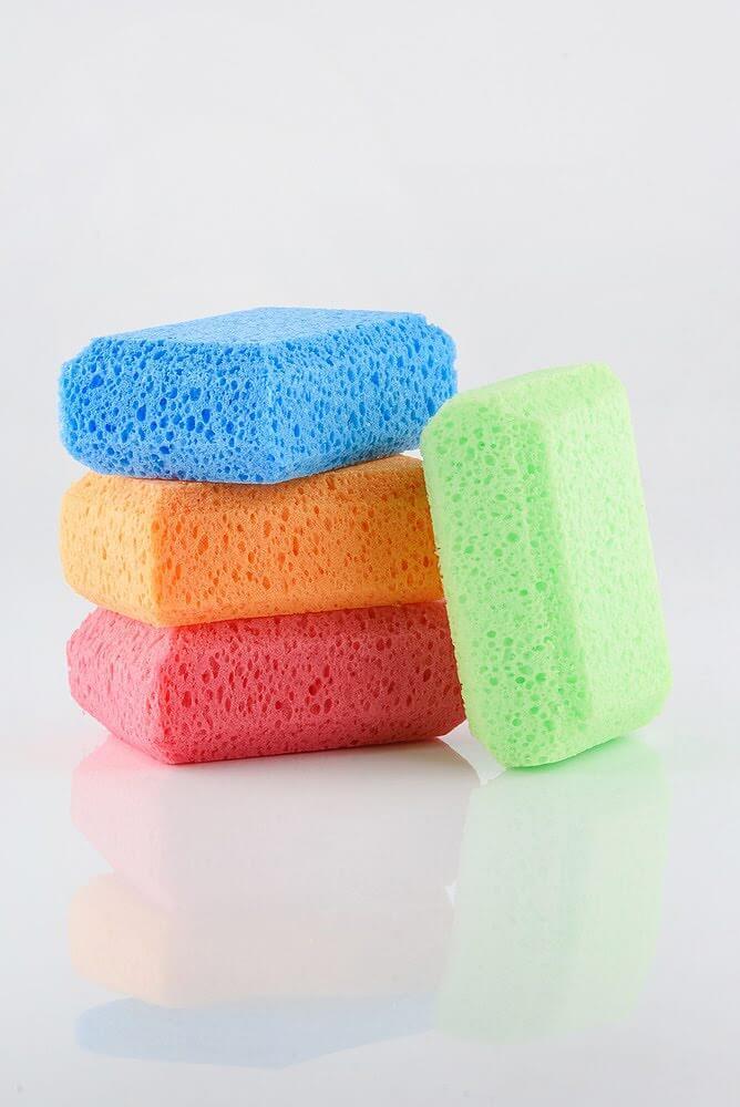 MARTINI SPA 4 Soft Bath Sponges / Family Pack 4 Мягкі банні губки / Сімейна упаковка (4шт)