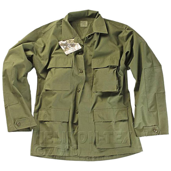 Китель военный Helikon BDU ― Olive Green (NyCo Twill)