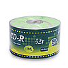 Диски kaktuz cd-r 700mb 52x bulk 50 штук ''lime'' (901oedrkaf023)