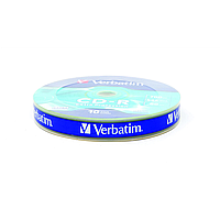Диски verbatim cd-r 700mb 52x shrink 10 штук extra 43725 (43725)