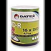 Диски datex dvd-r 4,7 Гб 16x bulk 100 штук (907wfdrkaf002)