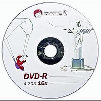 Диск datex dvd-r 4,7 Гб 16x bulk 50 штук jesus in rio
