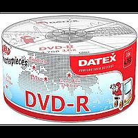 Диск datex dvd-r 4,7 Гб 16x bulk 50 штук roman colosseum