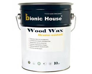 Лазурь-лак восковый BIONIC-HOUSE WOOD WAX для древесины 10л