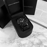 Мужские наручные классические часы Emporio Armani AA AR903 All Black