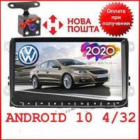 Штатная автомагнитола TIAN-SU Volkswagen Android 10 память 4/32Гб и экран 9 дюймов для фольксваген