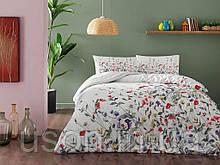 Комплект постельного белья полуторный размер TAC ранфорс Cherry