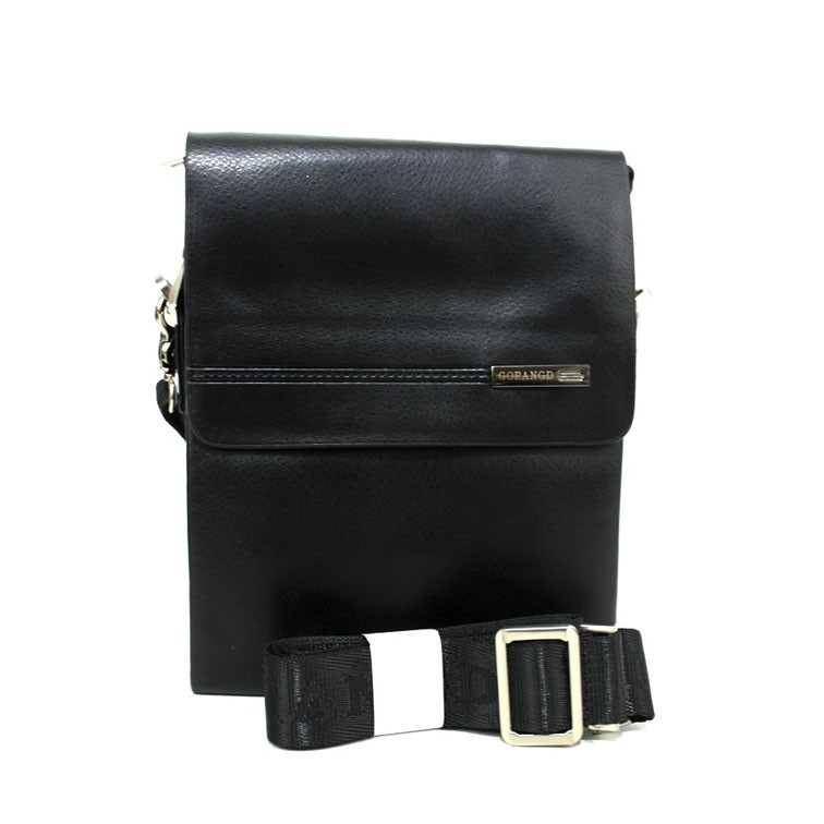 Якісна сумка-планшетка з ременем через плече для чоловіків зі штучної шкіри Розміри: 21х17х5