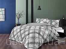 Комплект постельного белья полуторный размер TAC ранфорс Floyd gri