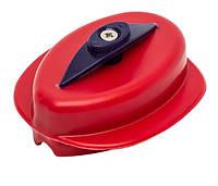 Пресс-форма для кормушки флэт пластиковая с кнопкой