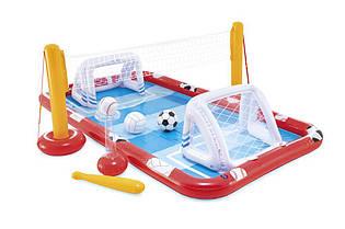 Надувной игровой центр - бассейн Intex 57147 «Спортивный игровой центр», 325 х 267 х 102 см
