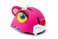 """Шлем велосипедный CIGNA """"Розовый леопард"""""""