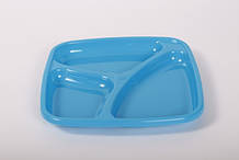 Тарелка для кормления ТМ Курносики Синяя 7052, КОД: 1457848