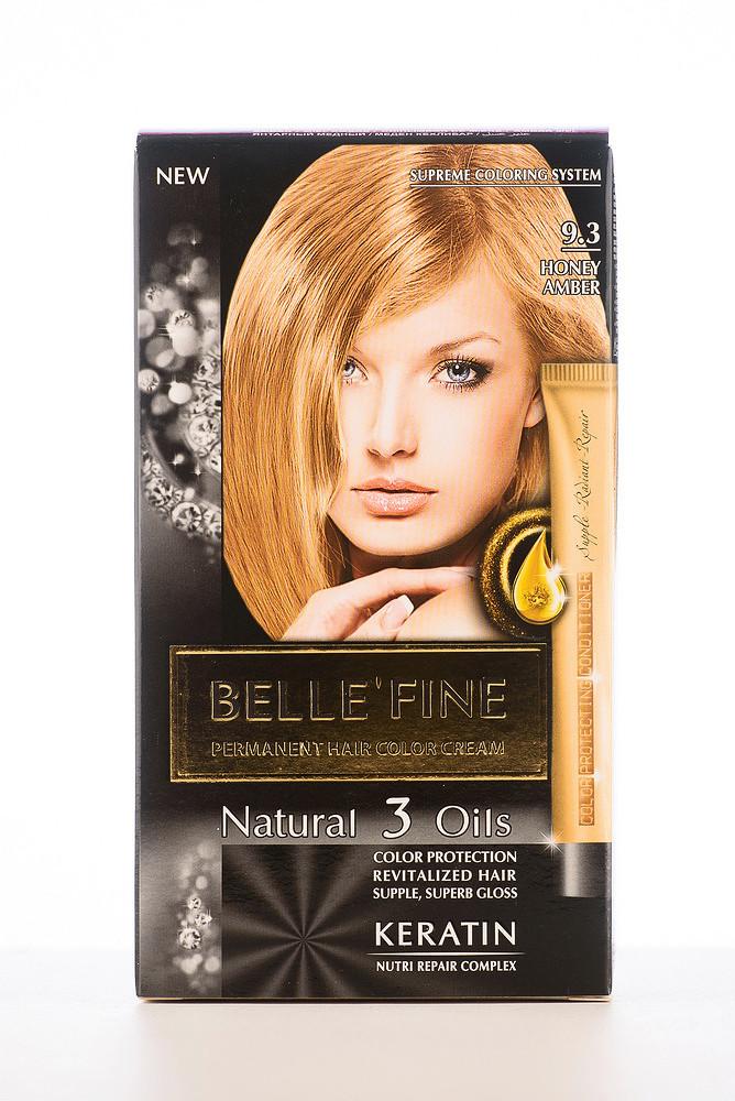 BELLE'FINE Фарба для волосся 9.3 Бурштиновий мідний