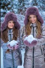 Дитяча шапочка для дівчинки Фіона Україна Xs-017