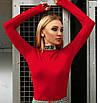 Жіночий трикотажний боді з принтом Sterva 42, фото 3