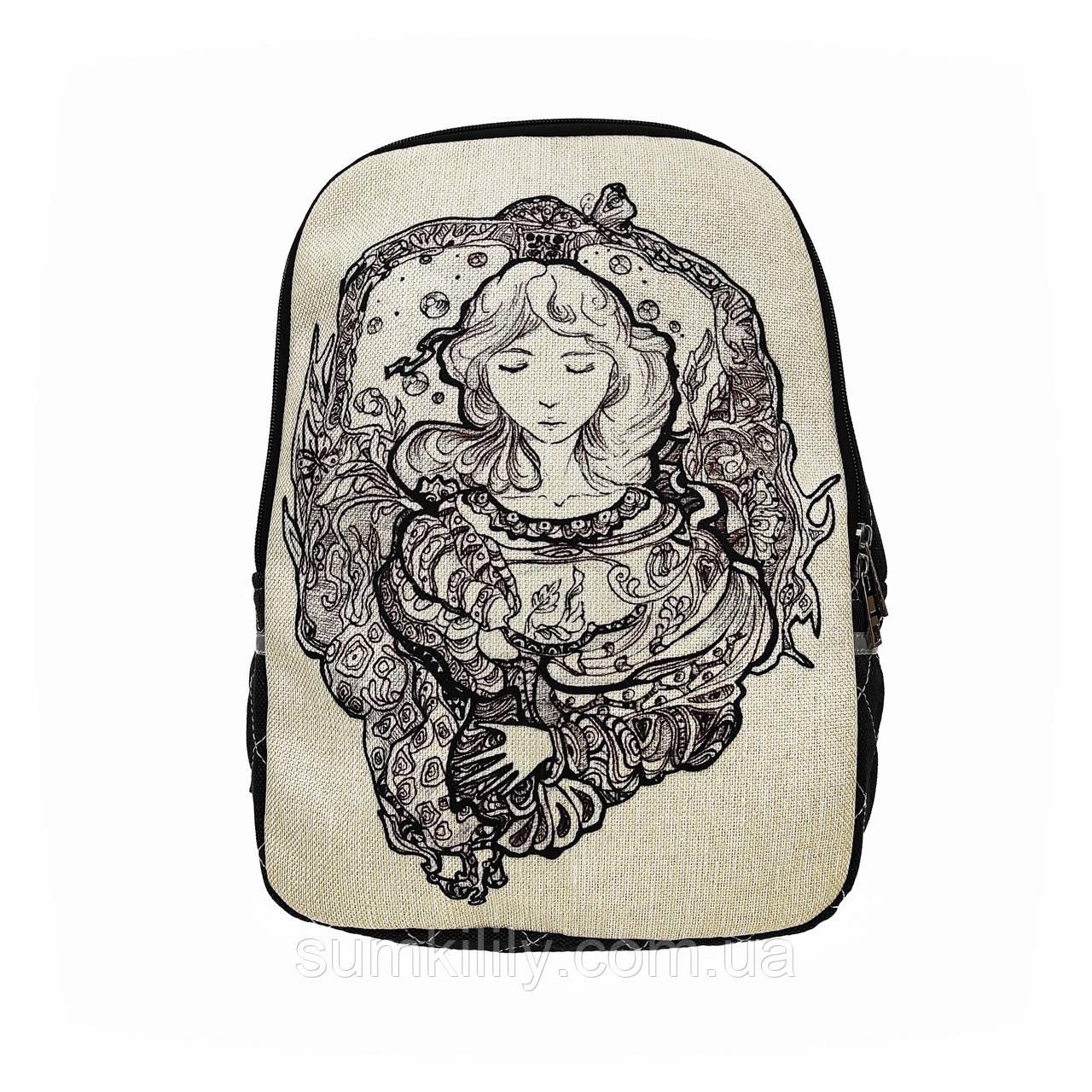 Текстильный рюкзак Мечты о будущем