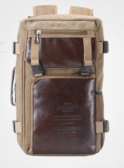 Рюкзак-сумка Ririxing мішковина