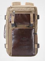 Рюкзак-сумка Ririxing мішковина, фото 1