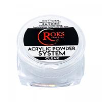 Акриловая пудра Roks прозрачная 30 гр