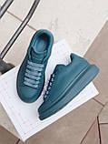 Стильні кросівки Alexander McQueen (Олександр Маквин) McQueen Moss Matte ( Premium ), фото 3
