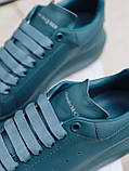 Стильні кросівки Alexander McQueen (Олександр Маквин) McQueen Moss Matte ( Premium ), фото 4