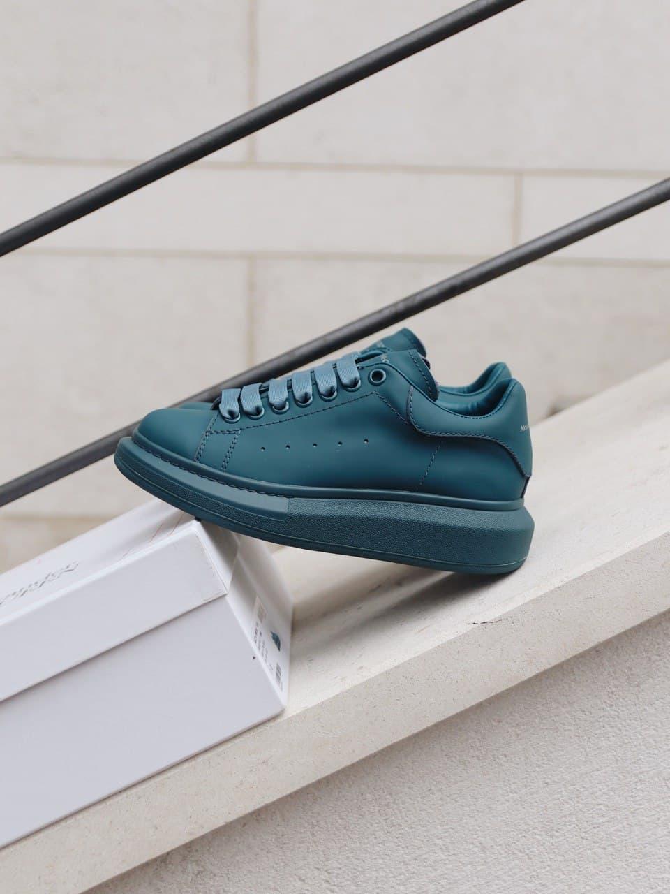 Стильні кросівки Alexander McQueen (Олександр Маквин) McQueen Moss Matte ( Premium )