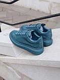 Стильны кроссовки Alexander McQueen (Александр Маквин) Moss Patent ( Premium ), фото 9