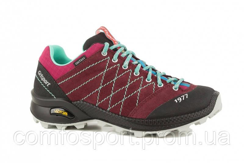 Кросівки жіночі Grisport 13133 бордо трекінгові Італія