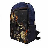 Джинсовий рюкзак SUZUKI, фото 2