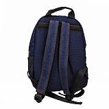 Джинсовий рюкзак SUZUKI, фото 3
